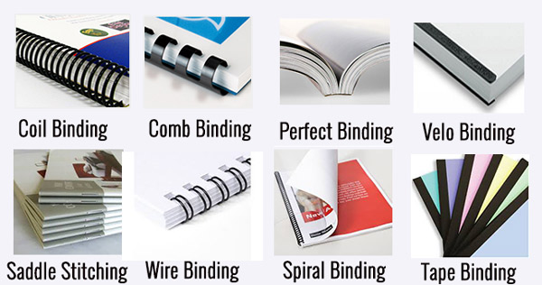 Binding and Custom Finishing Options