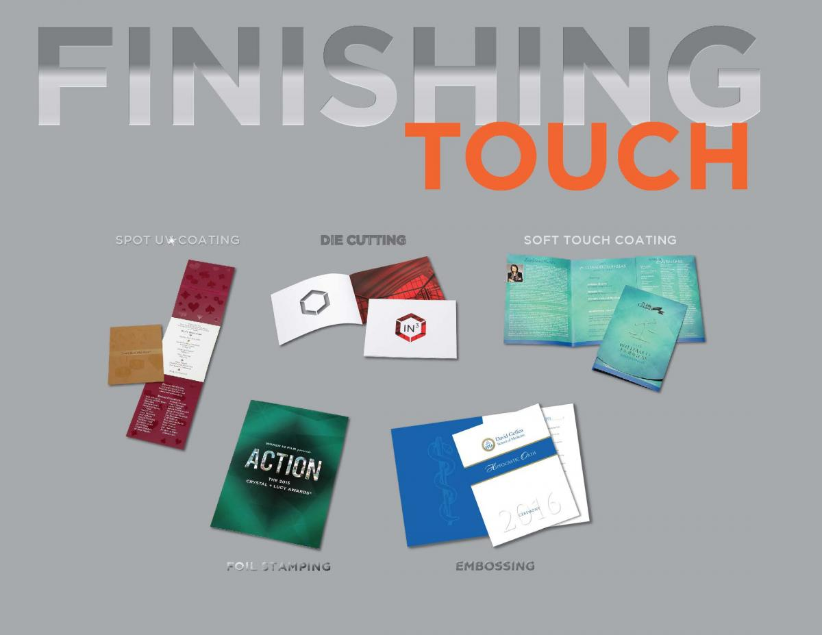 Custom Finishing and Binding Printing Alternatives