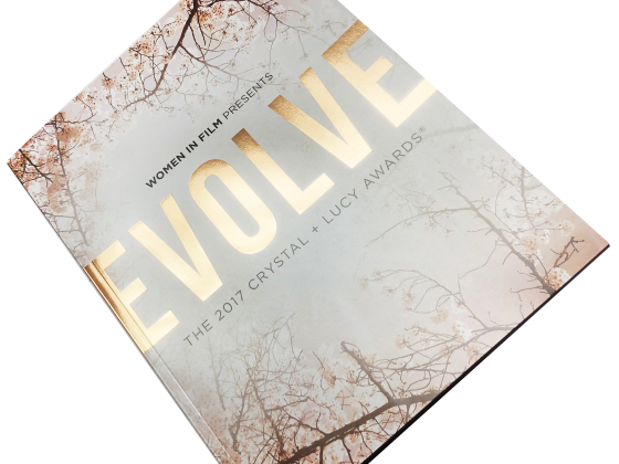 Ad Book / Tribute Book Print Sample - Evolve Women in Film