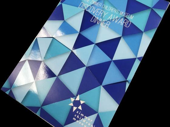 Invitation, Die Cut, Coatings, Digital, Folded, Print Sample